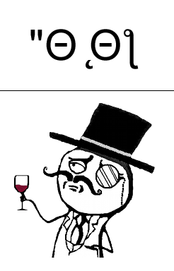 like a sir and emoticon